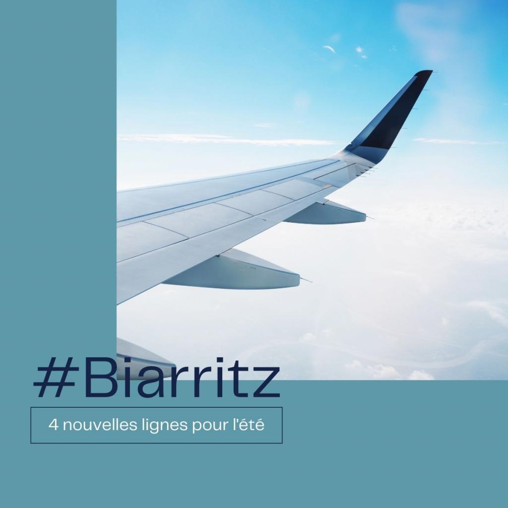 4 nouvelles lignes pour l'aéroport de Biarritz