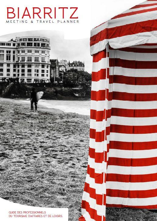 Couverture Meeting and Travel Planner Biarritz
