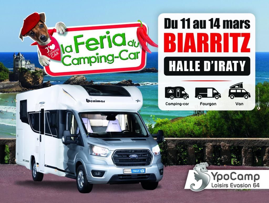 Affiche Feria du camping car